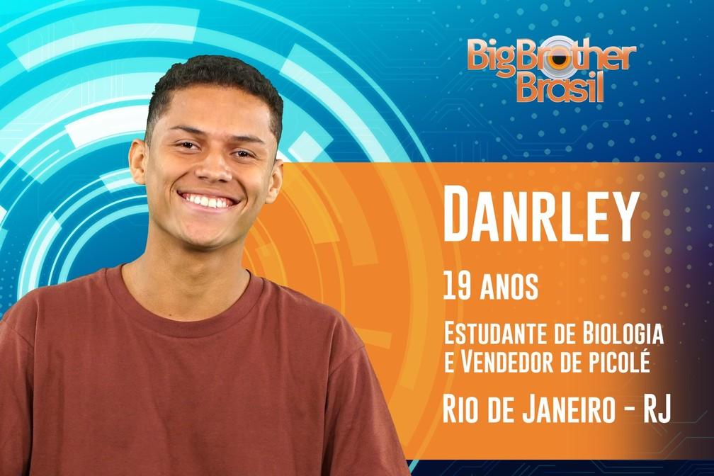 Conheça Danrley, participante do BBB19 — Foto: Divulgação