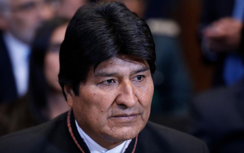 O presidente da Bolívia, Evo Morales, em imagem de arquivo — Foto: Bas Czerwinski/ANP/AFP