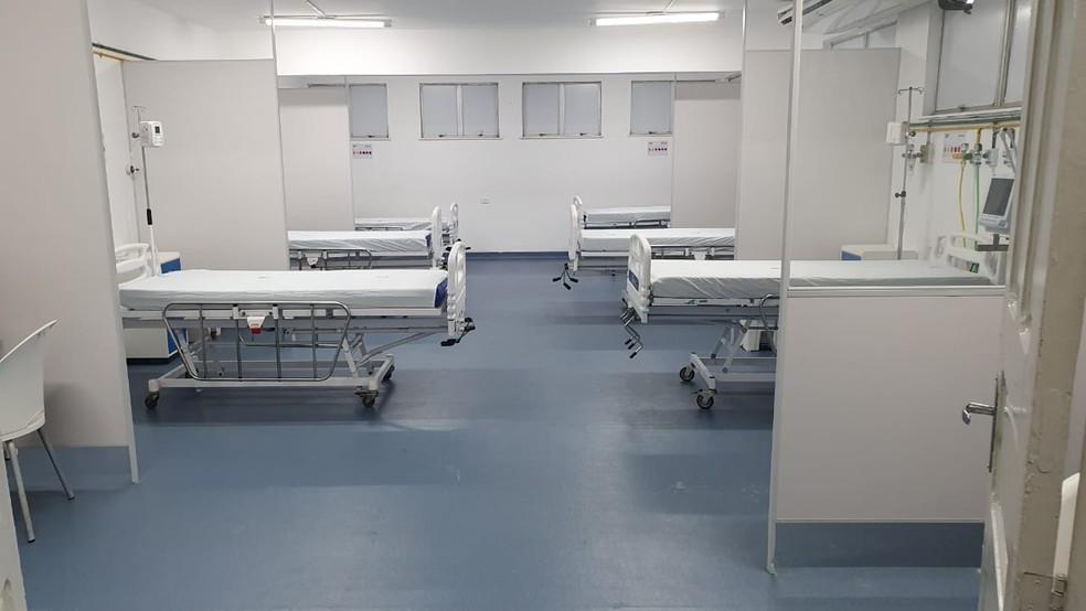 Santa Casa de Valença começará a receber pacientes contaminados pela doença a partir de sexta-feira (17) — Foto: Camilla Oliveira