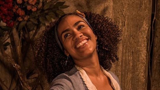 A cantora Mariene de Castro estreia em 'Velho Chico'