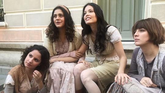 Amanda de Godoi, Jessika Alves e Giulia Gayoso aparecem com novo visual em 'Tempo de Amar'