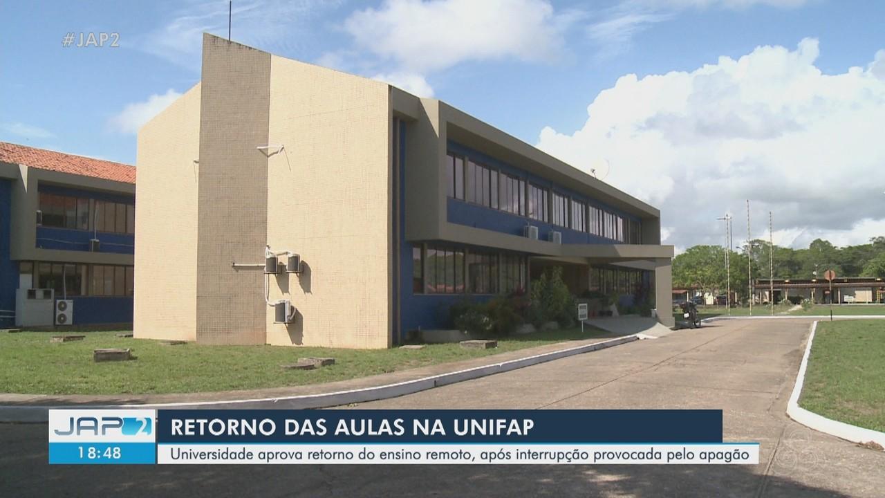 Universidade Federal do Amapá aprova retomada de ensino remoto após interrupção por apagão