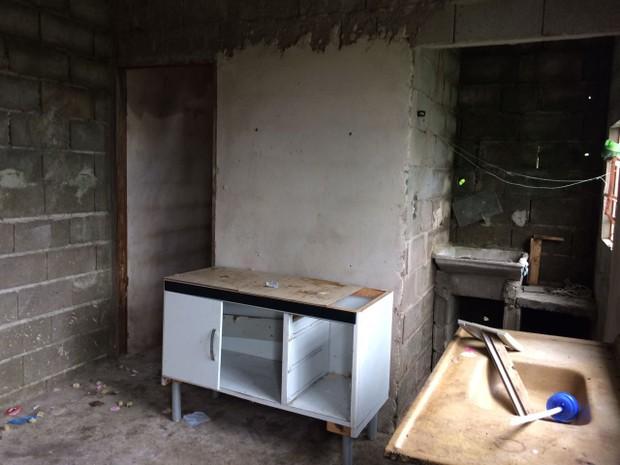 Crime aconteceu em uma casa em Iguape (Foto: G1)