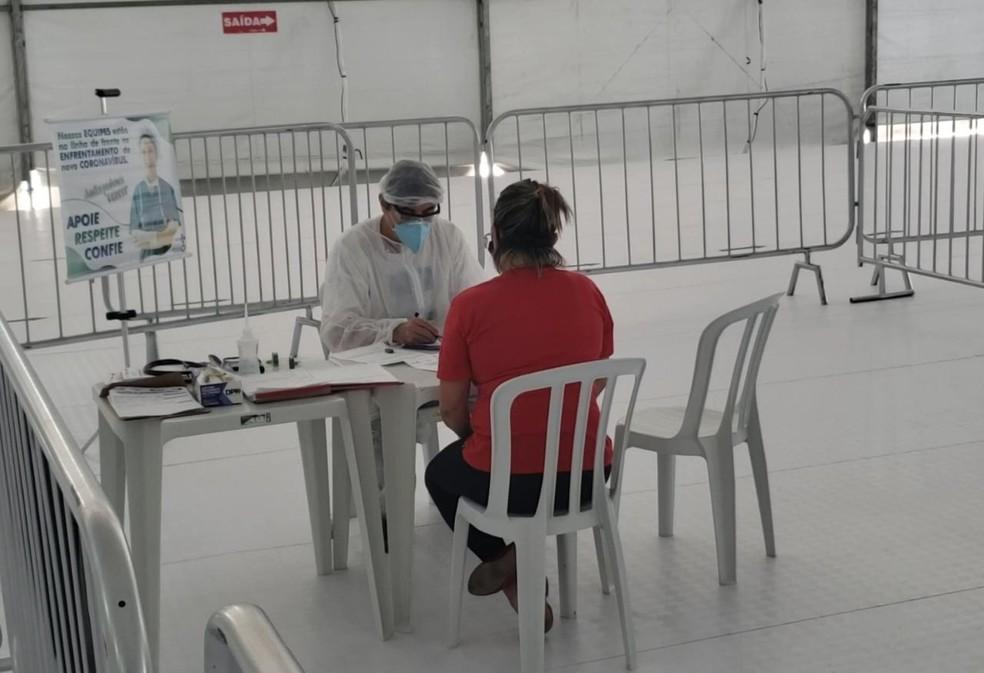 Polo de triagem da COVID-19 é inaugurado em Maricá — Foto: Fotos: Giovanna Pires