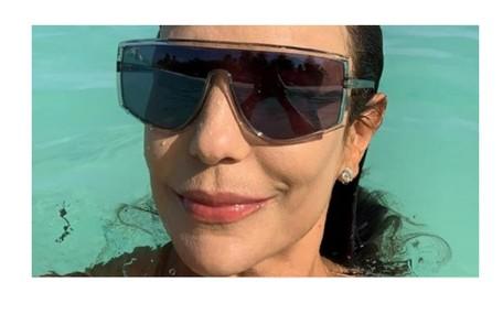 Ivete Sangalo foi às Maldivas um julho de 2019 e ficou hospedada num hotel de luxo Reprodução