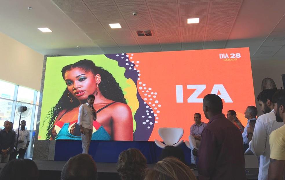Programação foi divulgada em coletiva de imprensa realizada nesta sexta — Foto: Maiana Belo/G1 Bahia