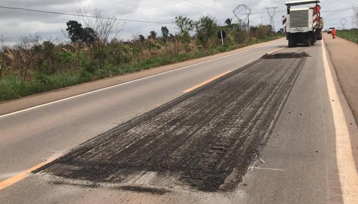 Governo afirma que obras na PA-150 serão concluídas até abril de 2020 - Notícias - Plantão Diário