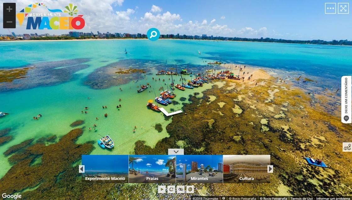 Maceió apresenta tour virtual no Google em feira internacional - Notícias - Plantão Diário