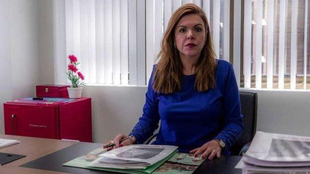 Lanchotti foi alçada à coordenação de forças-tarefa referentes aos casos de Mariana e Brumadinho (Foto: DERRICK EVANS/BBC)