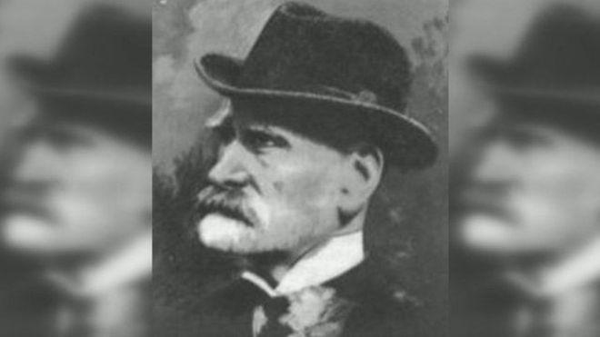 Ebenezer Cobb Morley é conhecido como 'pai do futebol moderno' (Foto: BBC)