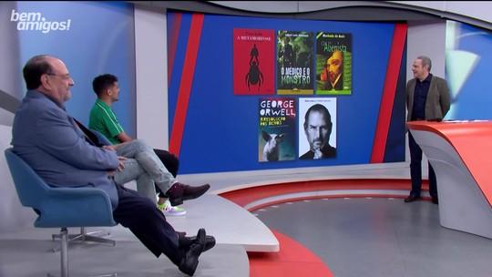 """No Bem, Amigos!, Gustavo Scarpa opina sobre Capitu em Dom Casmurro: """"Traiu"""""""