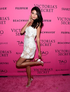 Em 2015, na after party do Victoria's Secret Fashion