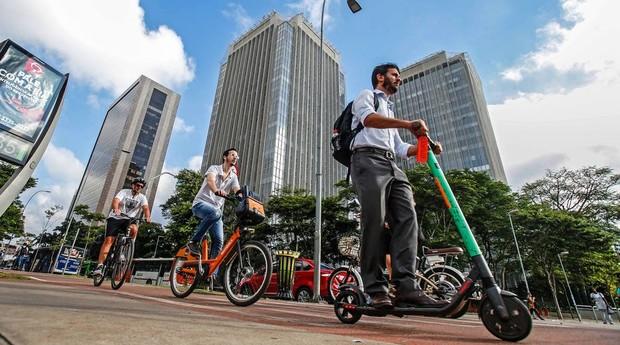 Prefeitura também estuda reduzir velocidade máxima em ciclovias   (Foto: Estadão Conteúdo)