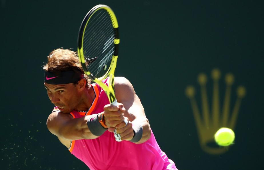 bc1f9dc3e02 ... Nadal domina sérvio e vai às quartas de final no Masters 1000 de Indian  Wells