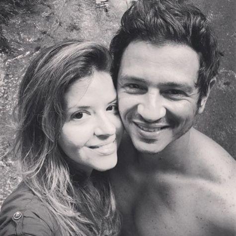 Mariana Santos e Rodrigo Velloni (Foto: Reprodução)