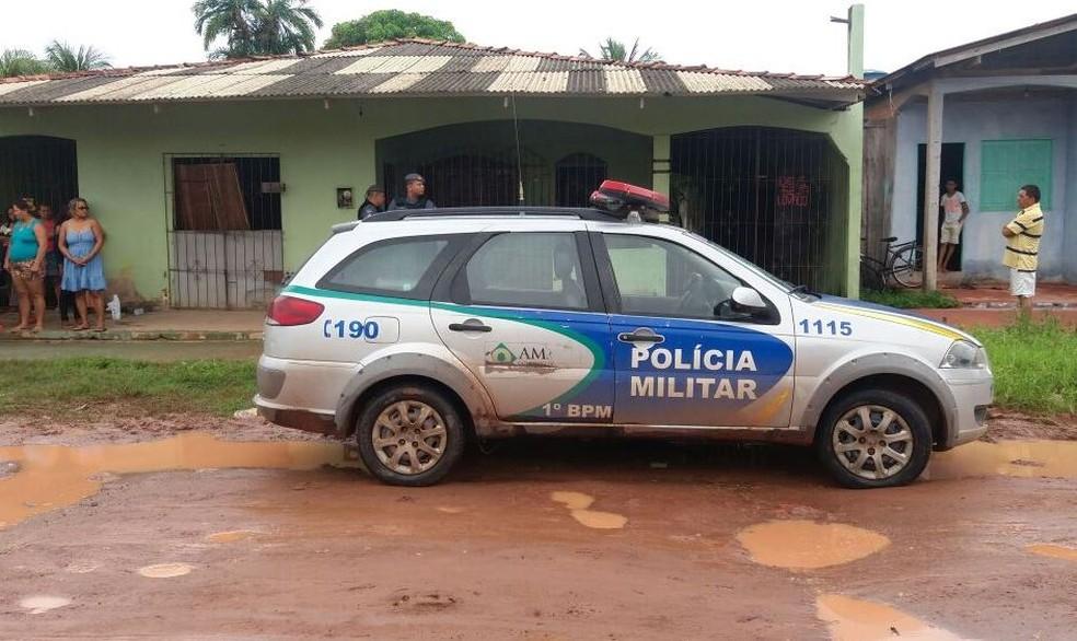 -  PM busca assassinos de aposentado no entorno do bairro Congós  Foto: Jéssica Alves/G1