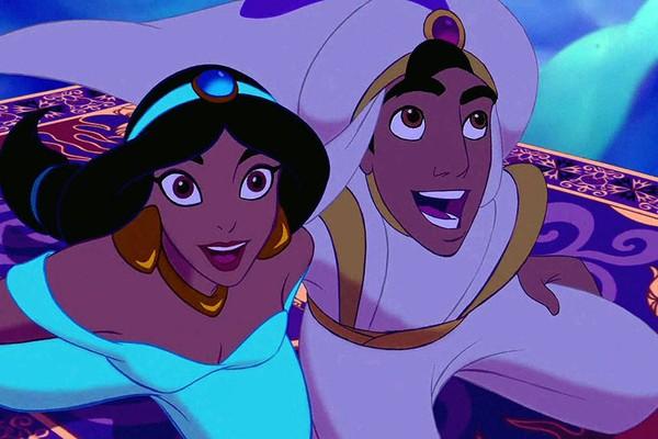 Uma cena do clássico Aladdin da Disney (Foto: Reprodução)