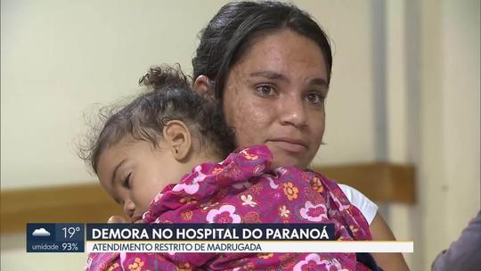 Pacientes reclamam da demora no atendimento no Hospital do Paranoá
