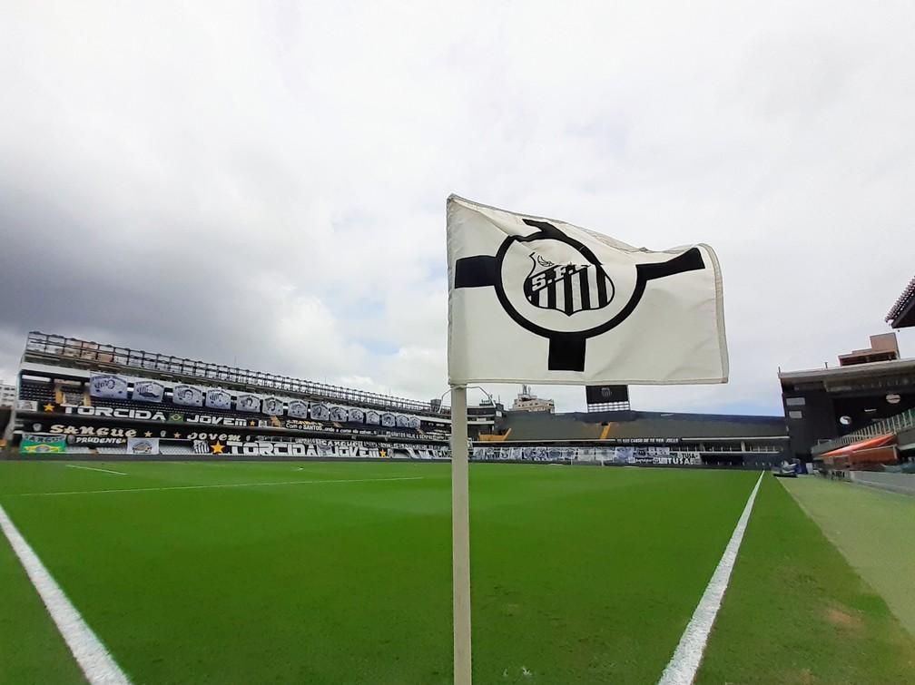 Vila Belmiro recebe Santos x Corinthians — Foto: Ivan Storti/Santos F.C