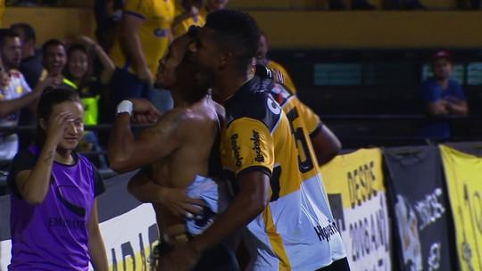 Os gols de Criciúma 2 x 1 Londrina pela 16ª rodada da Série B do Campeonato Brasileiro
