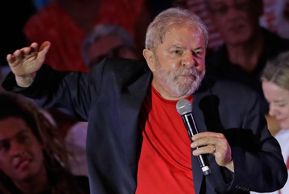 Luiz Inácio Lula da Silva (PT) (Foto: André Penner/AP/Arquivo)