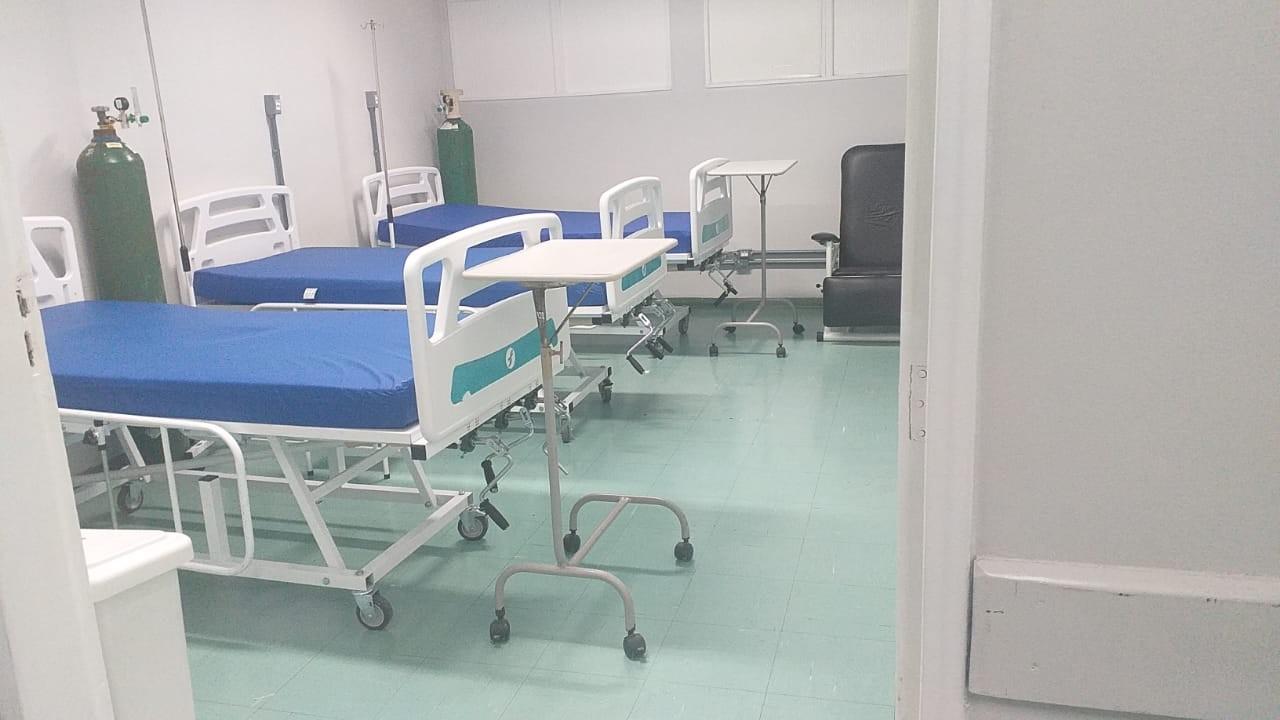 Leitos para pacientes com Covid-19 são reduzidos em Cubatão após queda no número de internações