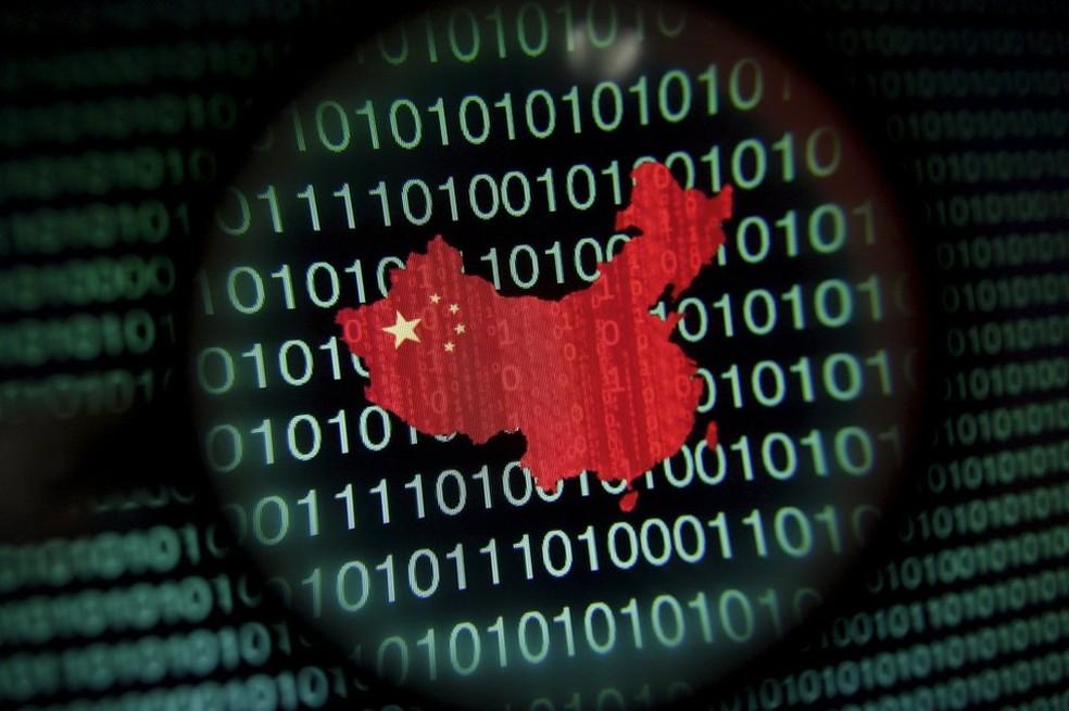 A China tem investido em satélite quântico e em laboratório científico — Foto: Reuters/BBC