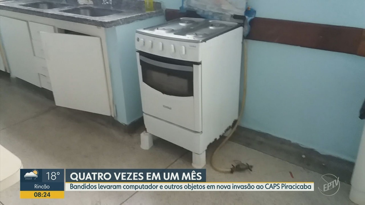 Bandidos invadem e roubam UPA de Piracicaba pela quinta vez
