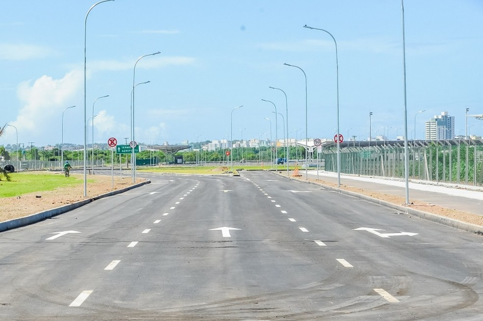 Entrada para o novo terminal do Aeroporto de Vitória (Foto: Divulgação/Sá Cavalcante)