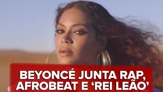 Beyoncé vai de clássicos de 1994 a novos territórios de rap e afrobeat em 2 discos de trilha