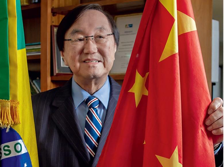 Charles Tang, presidente da Câmara de Comércio e Indústria Brasil-China (CCIBC) (Foto: Rogério Albuquerque)