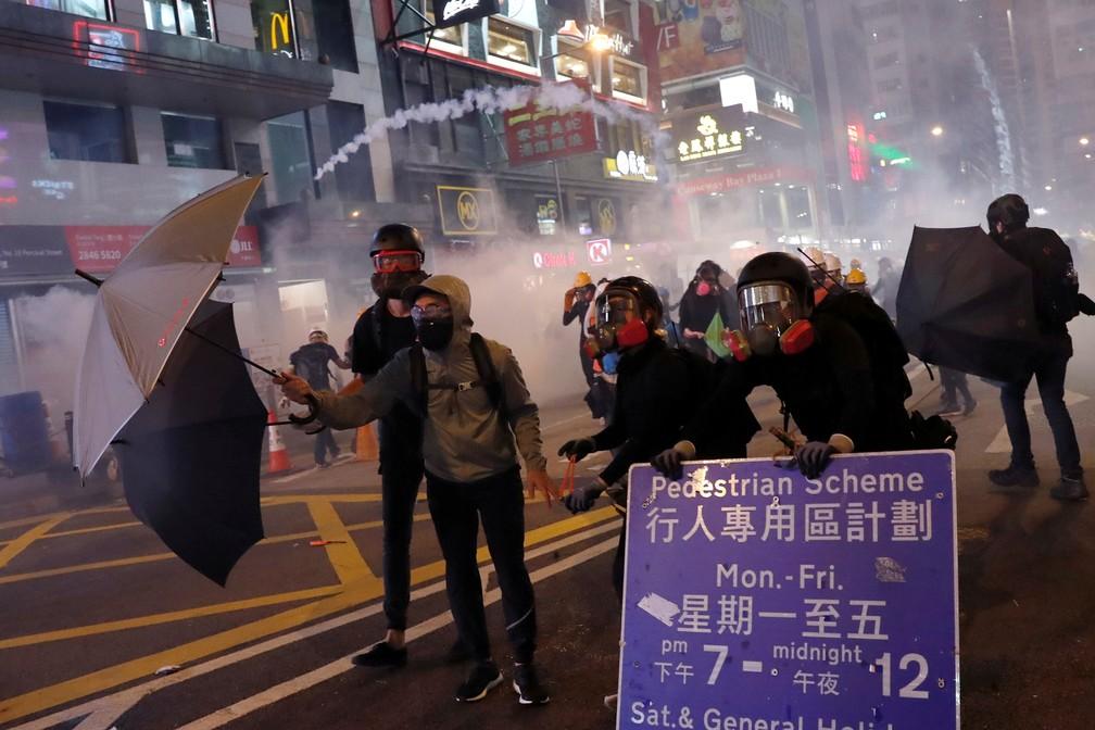 2019 08 04t153902z 458504580 rc115898fd30 rtrmadp 3 hongkong protests - Hong Kong tem nova confusão em manifestações; China diz que vai agir