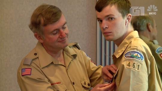 Jovem autista atinge nível mais alto em escotismo nos EUA