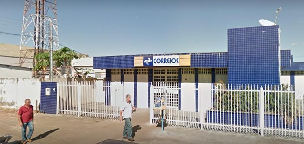 Agência dos Correios no município de Paraíso do Tocantins — Foto: Google Street View/Reprodução