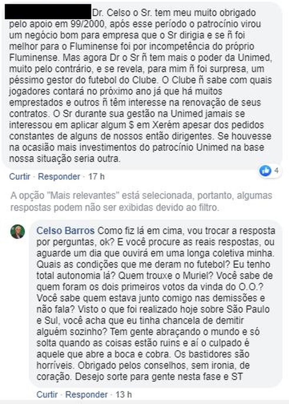 Celso Barros — Foto: Reprodução