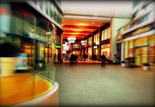 lojas, shopping (Foto: Pexels)