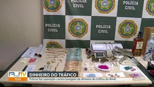 Polícia prende ao menos 5 pessoas por lavagem de dinheiro do tráfico