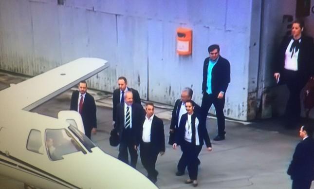 Lula embarcou em jatinho pertencente a ex-ministro