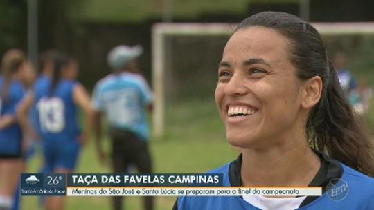 Superação e choro: jogadoras se emocionam ao lembrar trajetória até a final da Taça das Favelas