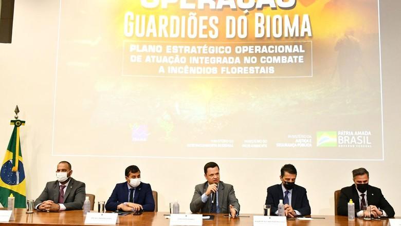 Governo lança plano para combater incêndios florestais (Foto: Isaac Amorim/MJSP)