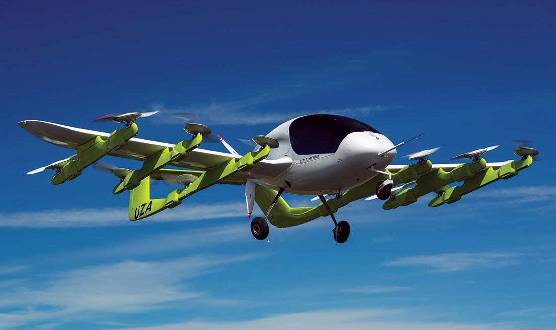 Cora, o táxi voador (Foto: Kittyhawk)