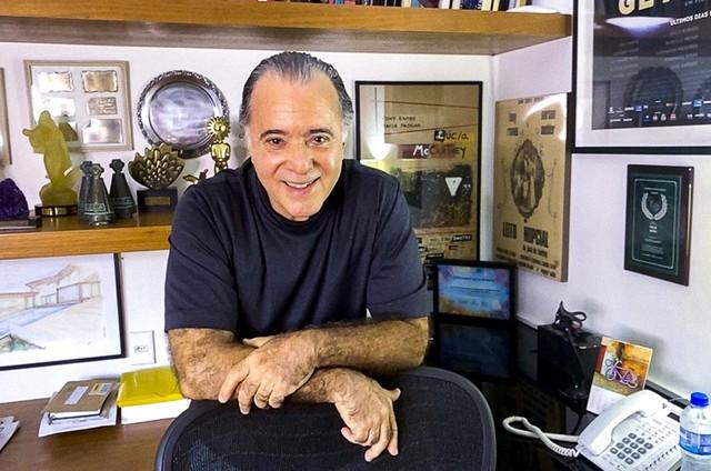 Tony Ramos (Foto: Estevam Avellar/TV Globo)