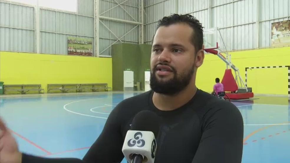 Fábio Mendes sofreu um acidente em 2012 — Foto: Reprodução/Rede Amazônica Acre