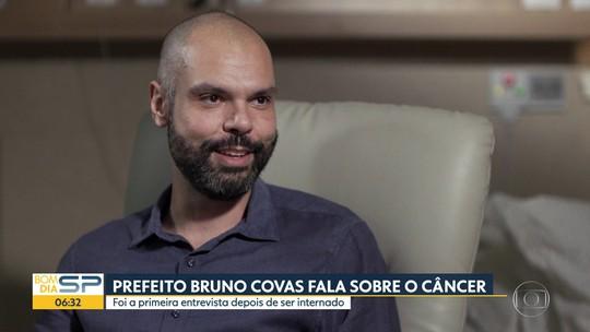 Bruno Covas espera ter alta do hospital nesta segunda-feira (04)