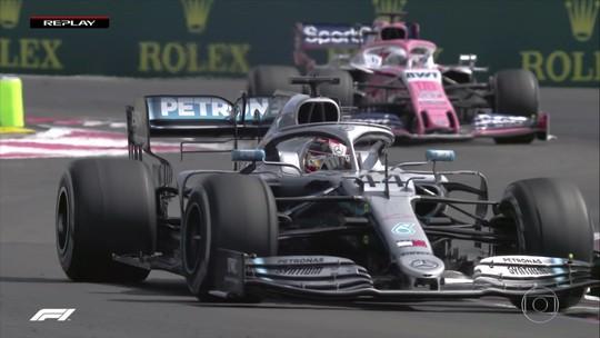Hamilton explica por que ignorou Mercedes e foi em busca de ponto por volta mais rápida na França