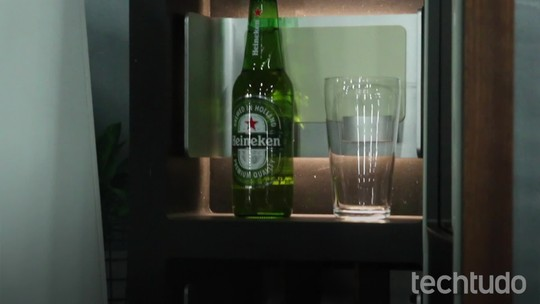 DrinkShift é uma geladeira smart que avisa quando a cerveja está acabando