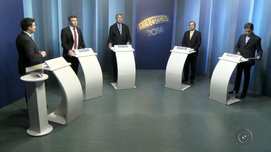 Candidatos à Prefeitura de Rio Preto falam das propostas em debate