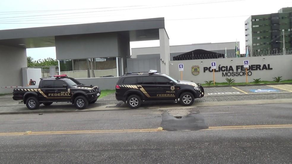 Operação foi deflagrada pela delegacia da Polícia Federal em Mossoró, no Oeste potiguar — Foto: Divulgação