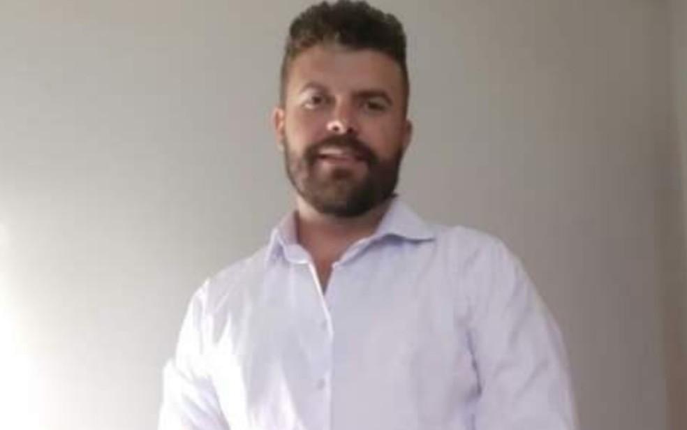 Helenito Alves dos Santos, de 37 anos, morreu durante briga com vizinho por causa de som alto em prédio de Valparaíso de Goiás — Foto: Reprodução/TV Anhanguera