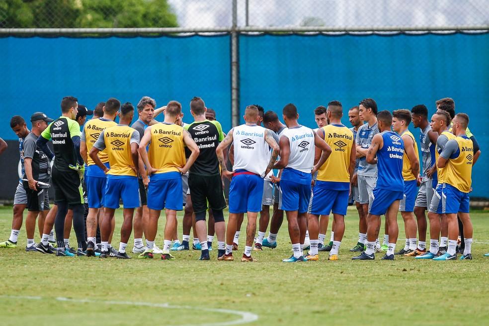 Grêmio esquece campanha ruim no Gauchão e foca na Recopa (Foto: Lucas Uebel/Divulgação Grêmio)